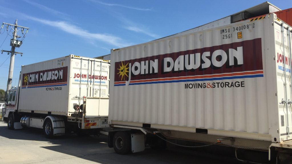 dawson moving truck