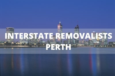 interstate removalist perth