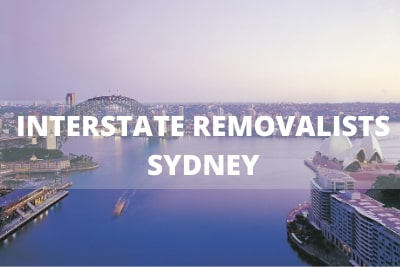 interstate removals sydney