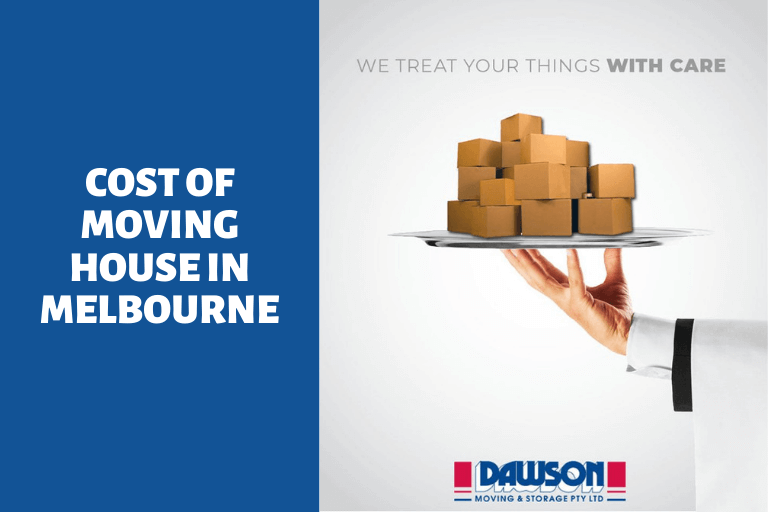 cost of moving house melbourne