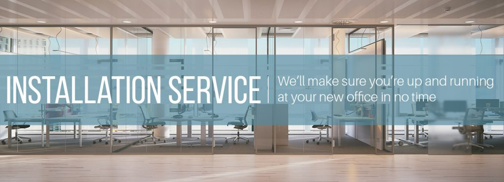 Installation Services for Relocations