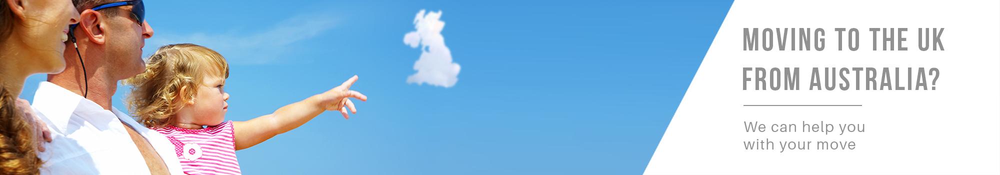 Moving to United Kingdom UK from Australia - International Removalists - Dawson