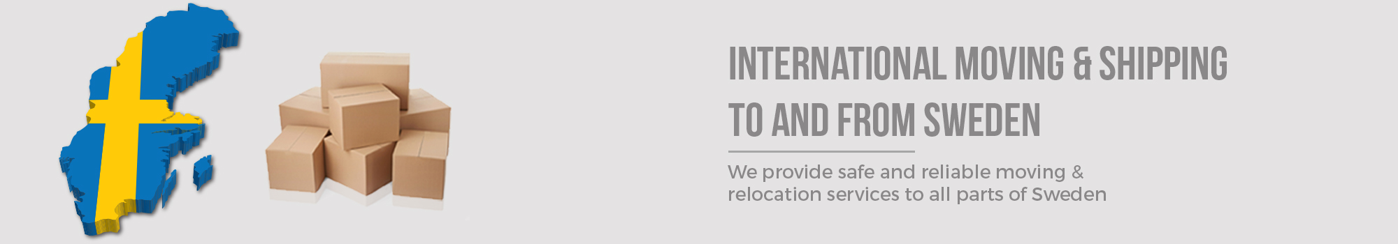 Moving to Sweden from Australia - International Removalists - Dawson