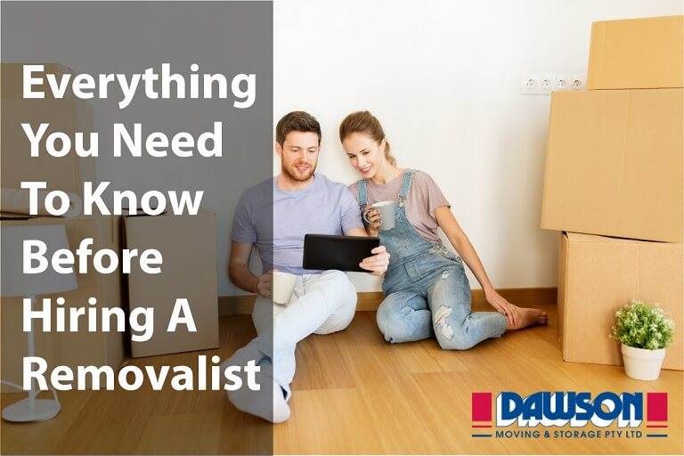 What You Need to Know Before Hiring A Removalist in Australia