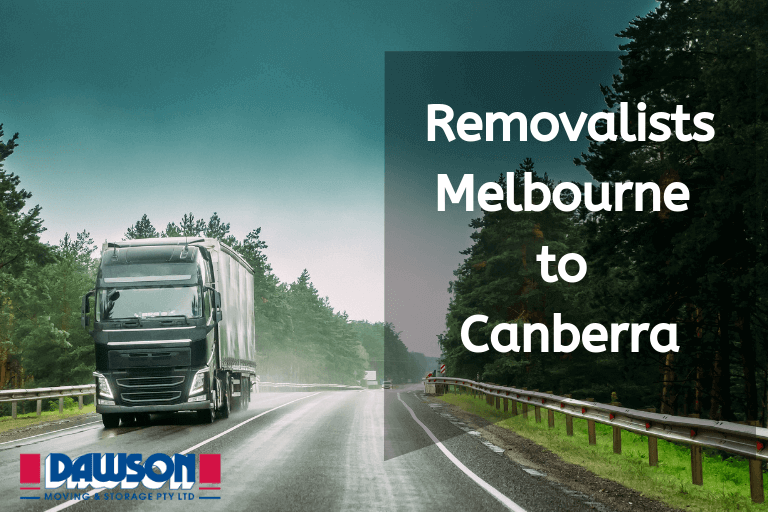 Removalists Melbourne to Canberra