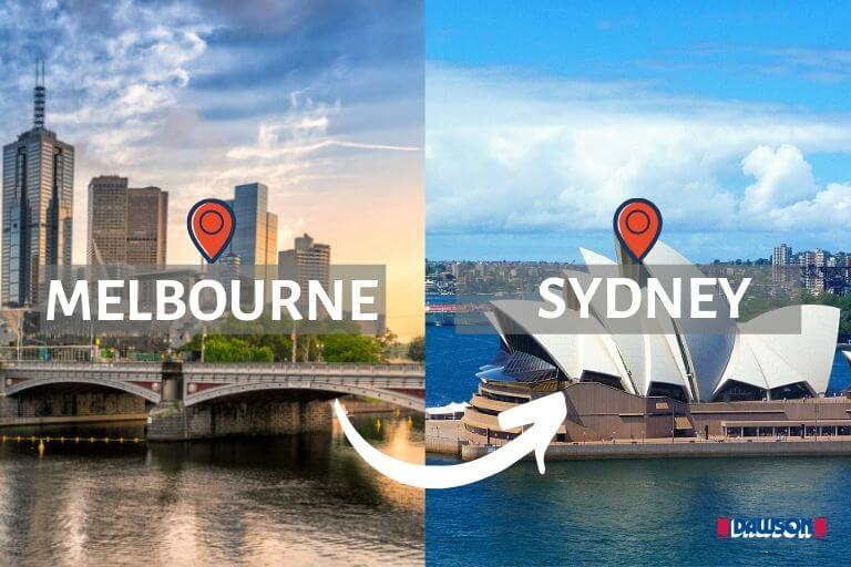 Moving from Melbourne To Sydney