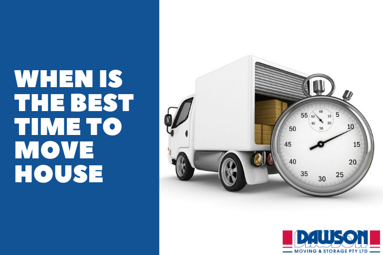 When Is the Best Time to Move House?
