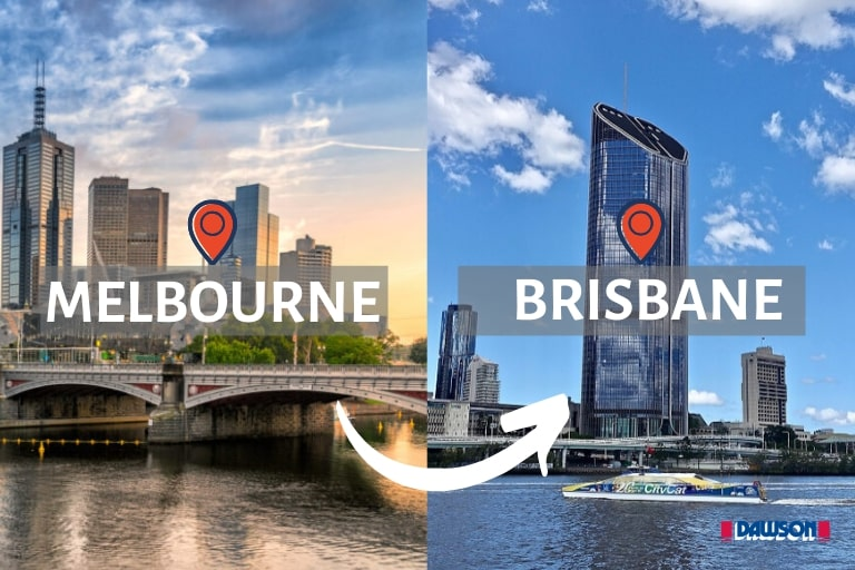 Moving from Melbourne To Brisbane