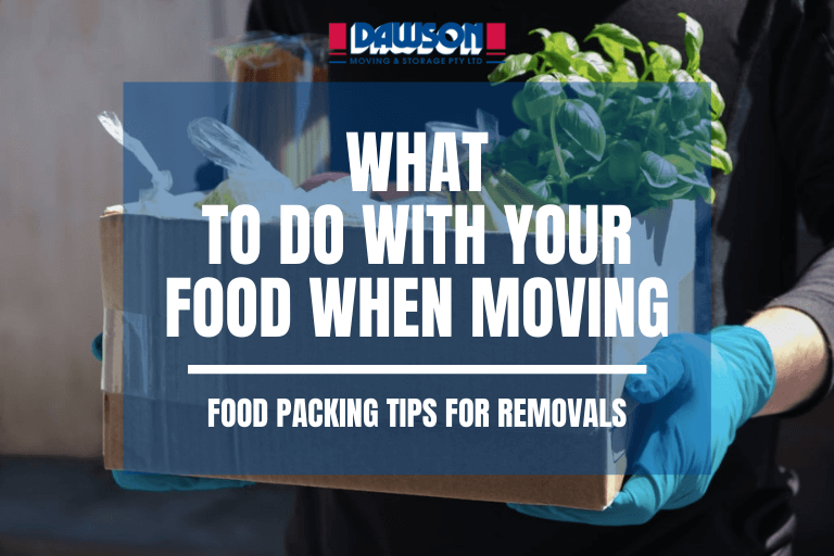 food packing tips for removals