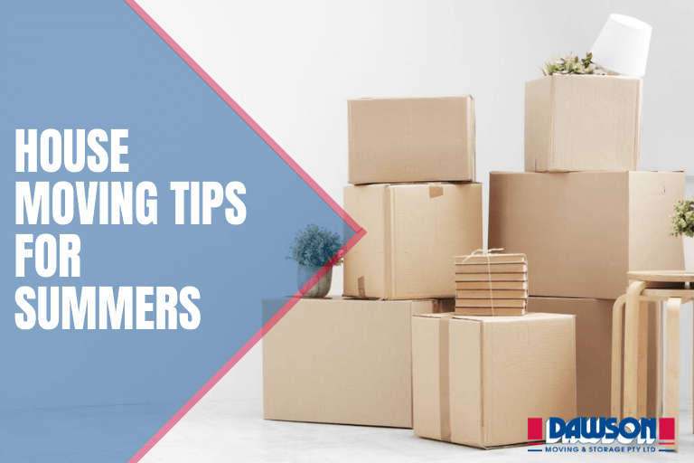 House moving tips for summers