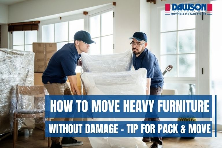 How to Move Heavy Furniture