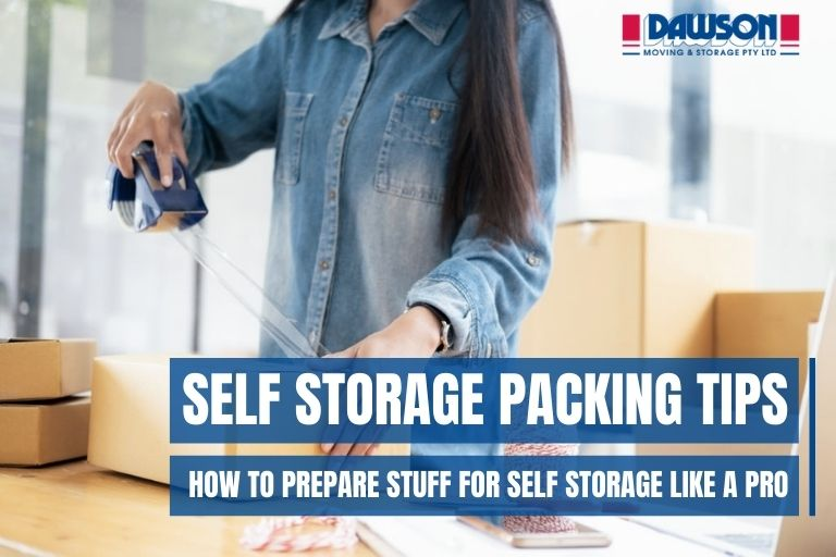 self storage packing tips