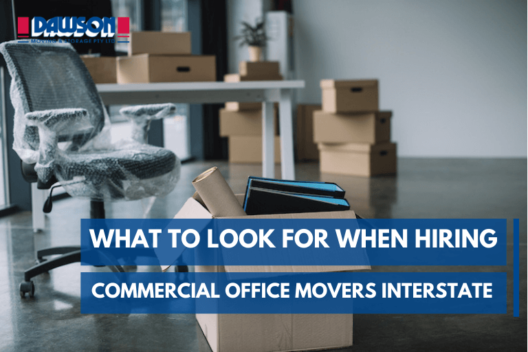 commercial office movers interstate